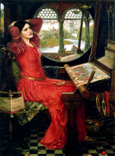 John William Waterhouse - I am Half-Sick of Shadows, said the Lady of Shalott