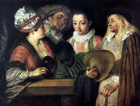 Jean-Antoine Watteau - Coquettes