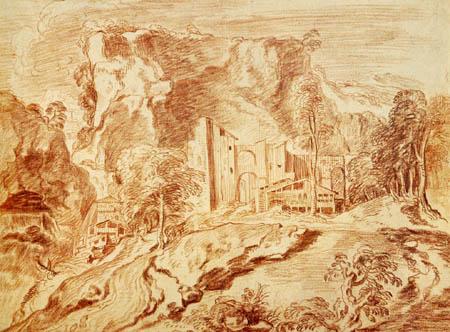 Jean-Antoine Watteau - Paisaje