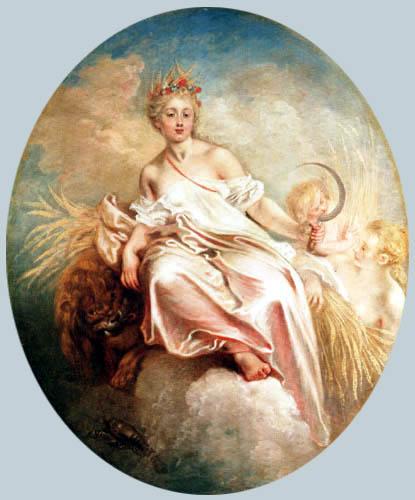 Jean-Antoine Watteau - The Summer