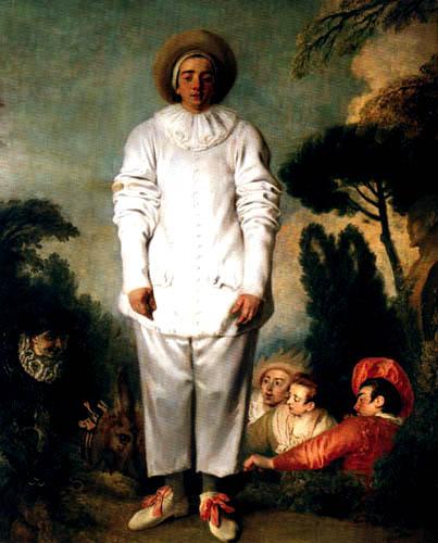 Jean-Antoine Watteau - Pierrot genannt Gilles