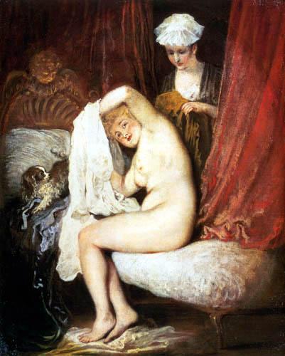 Jean-Antoine Watteau - The toilet