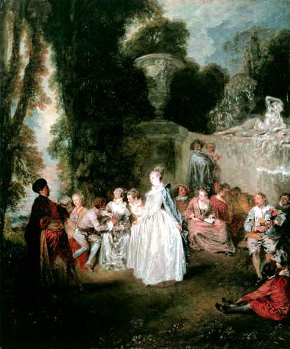 Jean-Antoine Watteau - Venezianisches Fest
