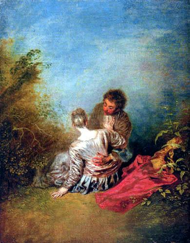 Jean-Antoine Watteau - Blunder