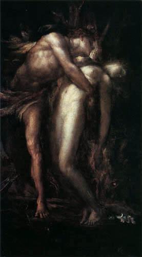 George Frederic Watts - Orpheus and Eurydice