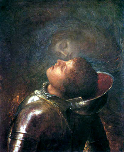 George Frederic Watts - The lucky knight