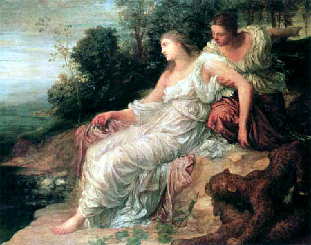 George Frederic Watts - Ariadne on the Island Naxos
