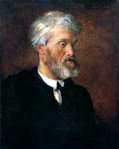 George Frederic Watts - Portrait of Thomas Carlyle