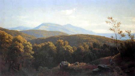 Paul Gottlieb Daniel Weber - Forest near Darmstadt
