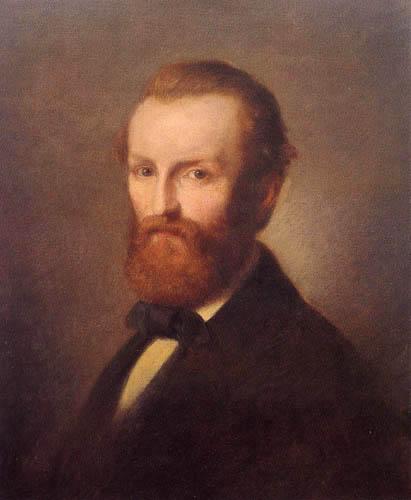 Paul Gottlieb Daniel Weber - Männliches Porträt