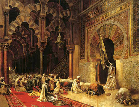 Lord Edwin Weeks - Interior of the Mosque at Cordova
