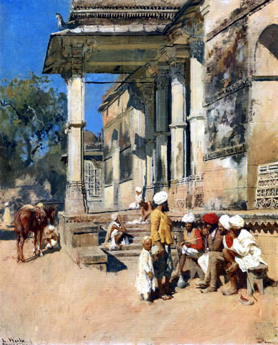 Lord Edwin Weeks - Portico of a Mosque, Ahmedabad
