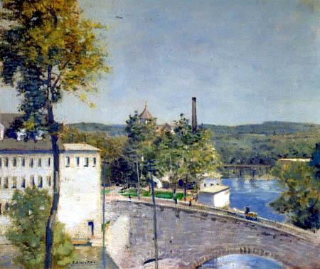 Julian Alden Weir - U.S. Thread Company Mills