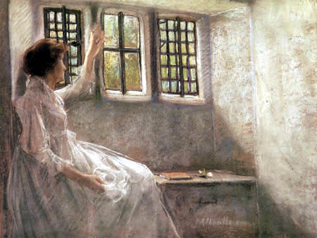 Julian Alden Weir - The place at the window