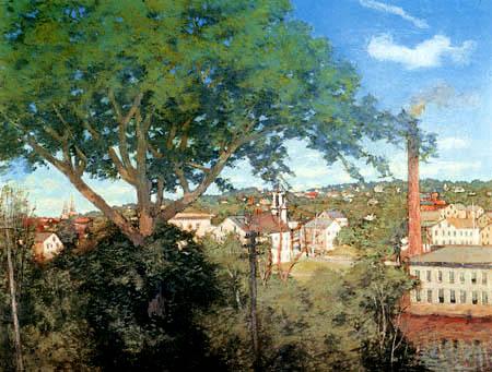 Julian Alden Weir - Industriedorf