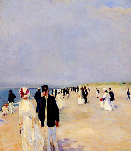 Albert Weisgerber - Beach of Norderney