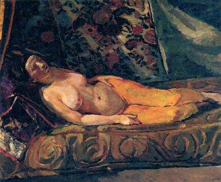 Albert Weisgerber - Nude