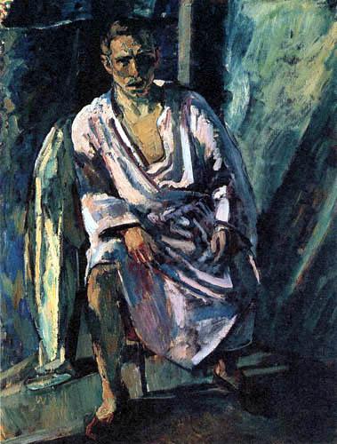 Albert Weisgerber - Autoportrait