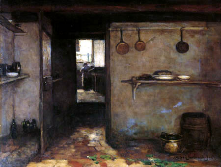Hendrik Johannes Weissenbruch - Interior of a kitchen