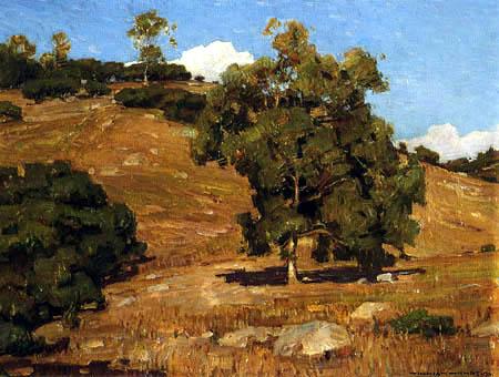 William Wendt - Sommerlandschaft