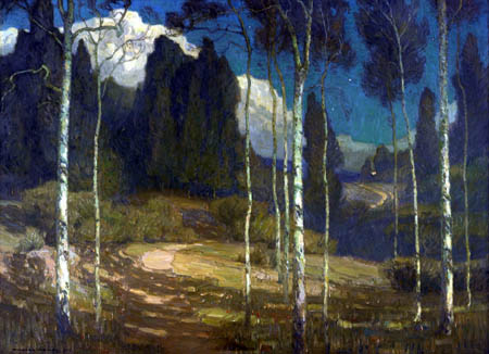 William Wendt - The silence of night