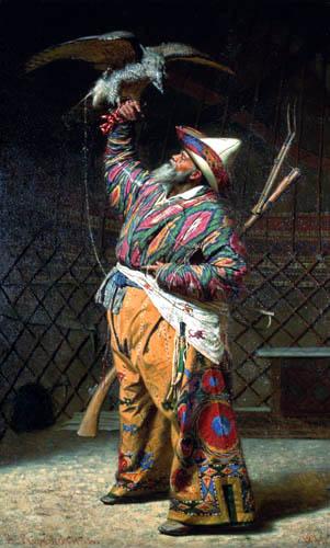 Wassilij W. Wereschtschagin - Ein reicher kirgisischer Jäger