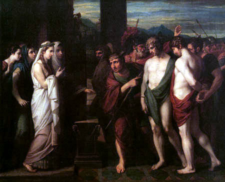Benjamin West - Pylades and Orestes