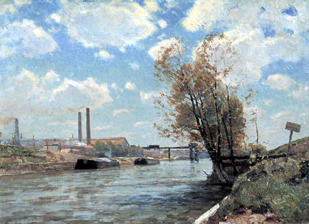 Victor Westerholm - The Seine in Paris