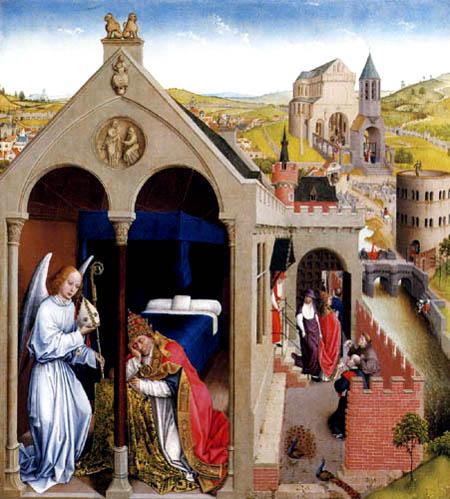 Rogier van der Weyden - The dream of the Pope Sergius