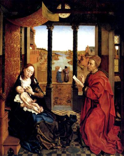 Rogier van der Weyden - Lucas-Madonna