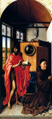 Rogier van der Weyden - The altar of Werl, Heinrich of Werl