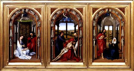 Rogier van der Weyden - Miraflores - Altar