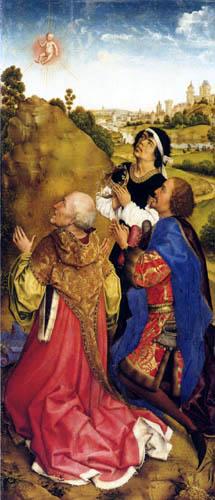 Rogier van der Weyden - The altar of Middelburg, The Magi