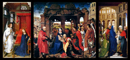 Rogier van der Weyden - The Columba Altar