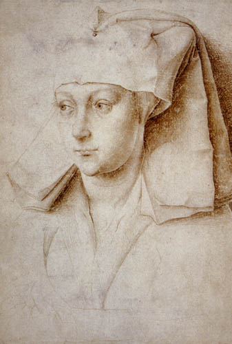 Rogier van der Weyden - A woman, study