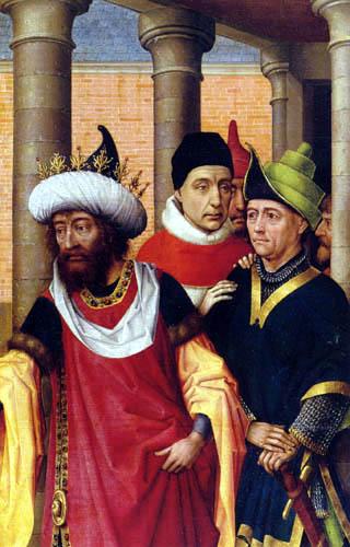 Rogier van der Weyden - A group of men