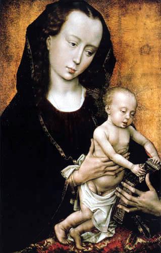 Rogier van der Weyden - Madonna with child