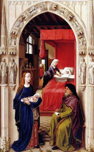 Rogier van der Weyden - John Altar, left