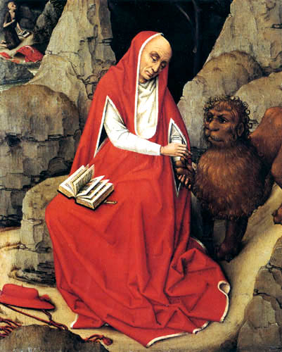 Rogier van der Weyden - San Hieronymo
