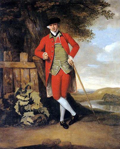 Francis Wheatley R.A. - Mr. Bailey of Stanstead Hall