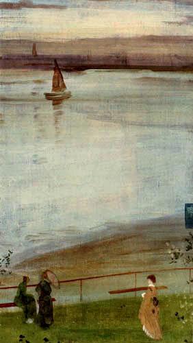 James Abbott McNeill Whistler - Variationen in Violett und Grün