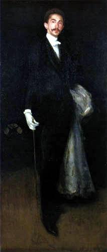 James Abbott McNeill Whistler - Robert Comte de Montesquiou-Fezensac