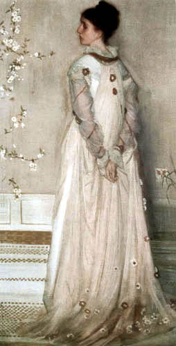 James Abbott McNeill Whistler - Mrs. Frances Leyland