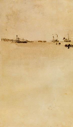 James Abbott McNeill Whistler - Strandszene