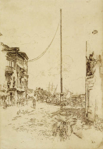 James Abbott McNeill Whistler - Der kleine Mast