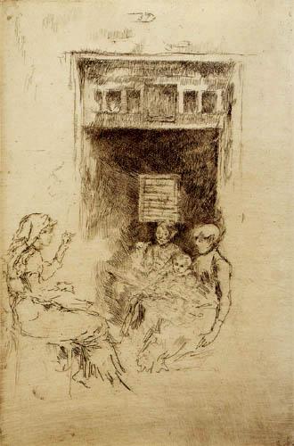 James Abbott McNeill Whistler - Perlenaufzieherinnen in Venedig