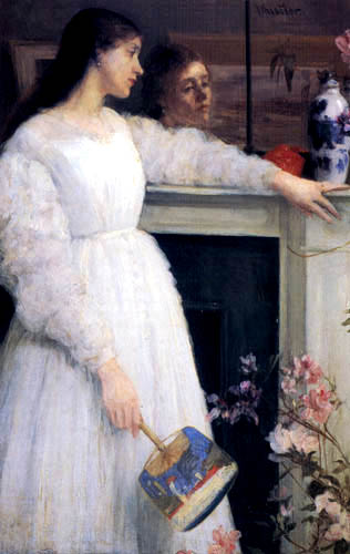 James Abbott McNeill Whistler - Harmonie in Weiß