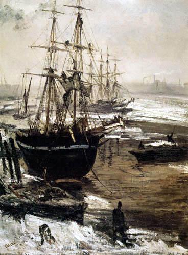 James Abbott McNeill Whistler - Eis auf der Themse