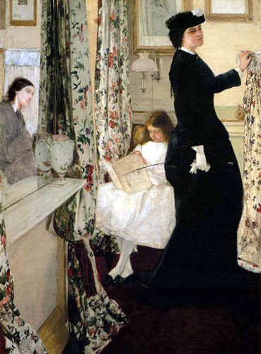 James Abbott McNeill Whistler - Das Musikzimmer