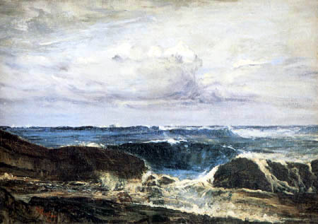 James Abbott McNeill Whistler - Blaue See bei Biarritz